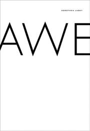 Cover of: Awe | Dorothea Lasky