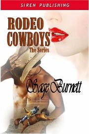Cover of: Rodeo Cowboys: The Series: Melanie
