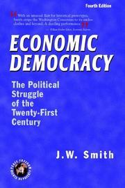 Economic Democracy: The Political Struggle of the Twenty-First Century