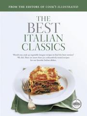 The Best Italian Classics (Best Recipe Classics)