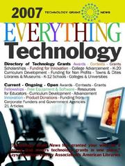 Cover of: Technology Grant News: Everything Technology [2007] | Technology Grant News