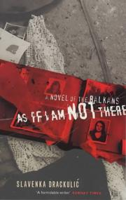 Cover of: As if I am not there