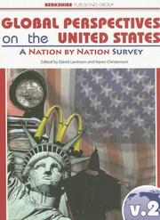 Cover of: Global Perspectives on the United States |