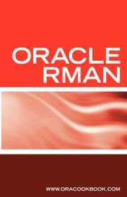 Cover of: Oracle RMAN Backup & Recovery Interview Questions | Terry Sanchez