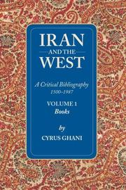 Cover of: Iran and the West (Volume 1)