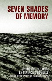 Cover of: Seven Shades of Memory | Terence O