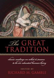 Cover of: The Great Tradition | Richard Gamble