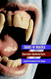 Cover of: Shades of Dracula
