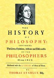 Cover of: The History of Philosophy (1701)