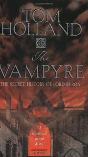 Cover of: The Vampyre