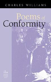 Cover of: Poems of Conformity