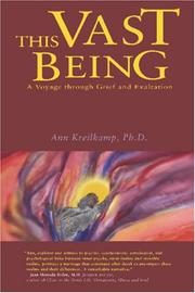 Cover of: This Vast Being | Ann Kreilkamp