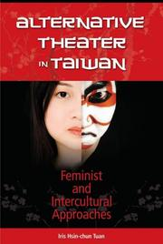 Alternative theater in Taiwan by Iris Hsin-chun Tuan