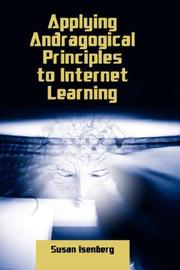 Cover of: Applying Andragogical Principles to Internet Learning