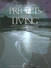Cover of: Precepts for Living 2007-2008 | UMI