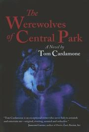 Cover of: The Warewolves of Central Park | Tom Cadamone