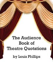 Cover of: The Audience Book of Theatre Quotations