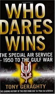Who Dares Wins by Geraghty, Tony.