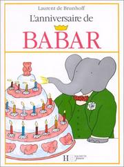 Cover of: Lanniversaire De Babar