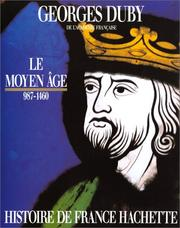 Cover of: Le Moyen Age