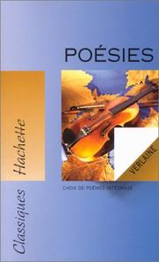Cover of: Poesies