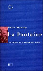 Cover of: La Fontaine