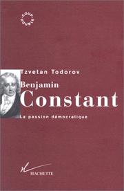 Cover of: Benjamin Constant