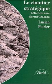Cover of: Le chantier stratégique