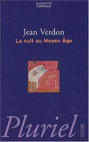Cover of: La nuit au Moyen Age