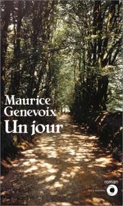 Cover of: Un jour