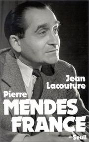 Cover of: Pierre Mendès France