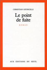 Cover of: Le point de fuite