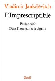 Cover of: L' imprescriptible