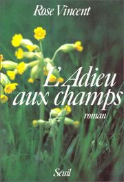 Cover of: L' adieu aux champs