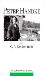 Cover of: Peter Handke