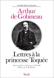 Cover of: Lettres à la princesse Toquée