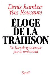 Cover of: Eloge de la trahison