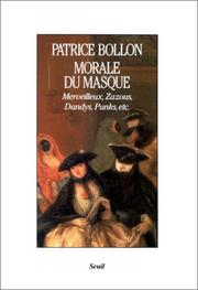Cover of: Morale du masque