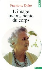 Cover of: L' image inconsciente du corps