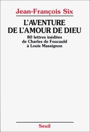 Cover of: L' aventure de l'amour de Dieu