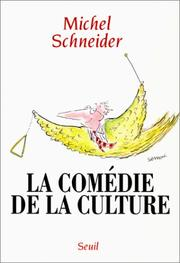 Cover of: La comédie de la culture