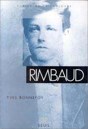 Cover of: Rimbaud