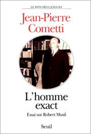 Cover of: L' homme exact