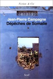 Cover of: Dépêches de Somalie