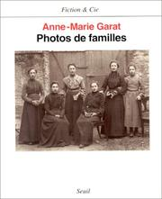 Cover of: Photos de familles