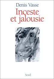 Cover of: Inceste et jalousie