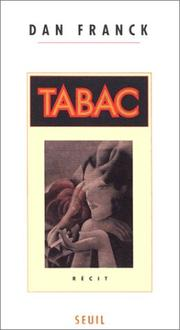 Cover of: Tabac: récit