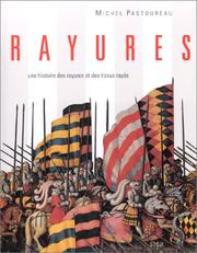 Cover of: Rayures