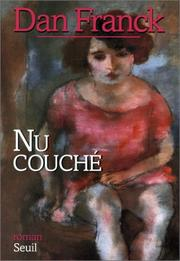 Cover of: Nu couché
