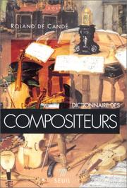 Cover of: Dictionnaire des compositeurs